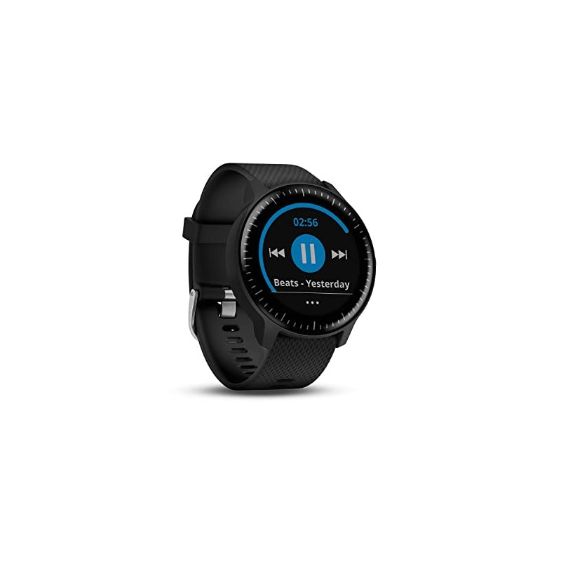 Garmin Vivoactive 3 GPS Smartwatch with Built-In Sports Apps and Wrist Heart Rate – Black