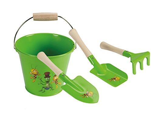 Arena juguete Cubo y juego de 3pequeñas Pala y rastrillo Jardín de juguete...