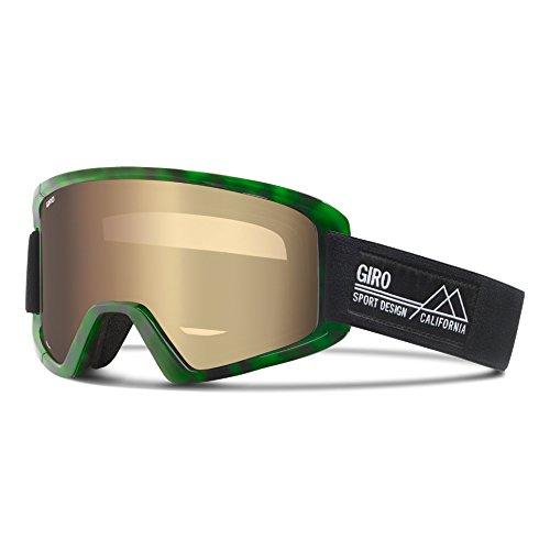 Giro Demi-Masque de ski mixte Vert/noir Taille unique