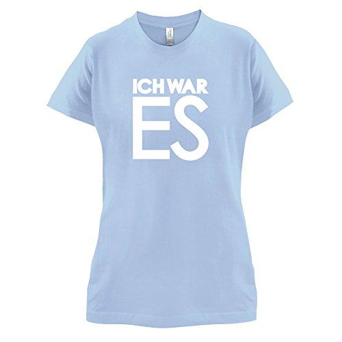 Ich war es - Damen T-Shirt - 14 Farben Himmelblau
