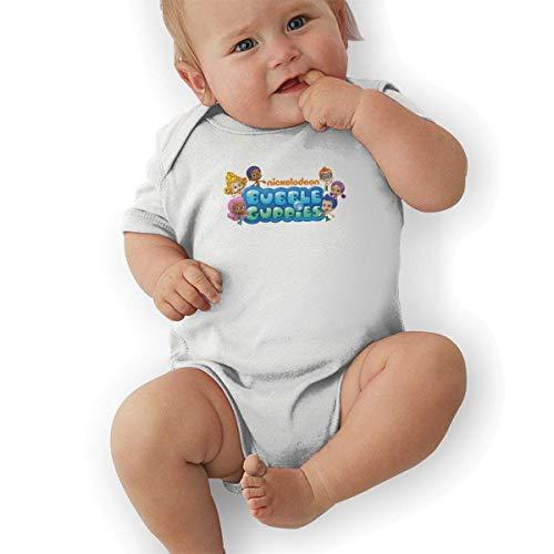 Bodys & Einteiler,Babybekleidung, Baby one-Piece Suit,Baby Jumper,Pajamas, Baby Clothes, Bubble Guppies Logo Unisex Newborn Infant Bodysuit Baby Clothes