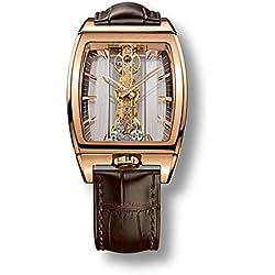 Corum - Reloj de pulsera mujer, piel, color marrón
