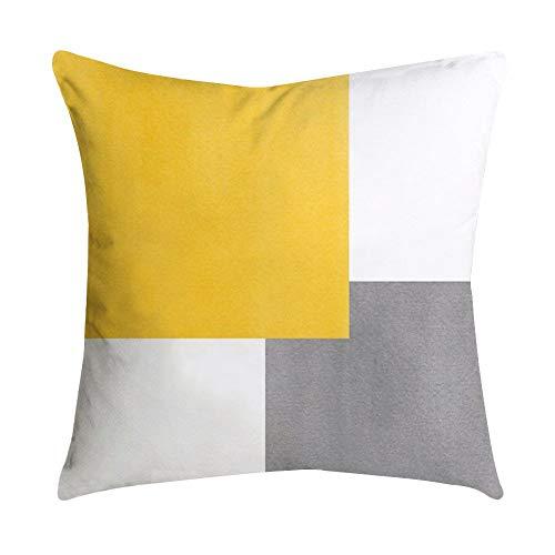 Aiserkly - Funda de cojín para sofá, Coche, diseño de Hoja de...
