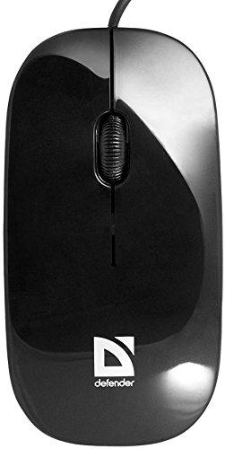 Defender kabelgebunden Optische Maus netsprinter mm-440schwarz + orange 3Tasten 1000dpi