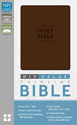 Premium Value Thinline Bible-NIV