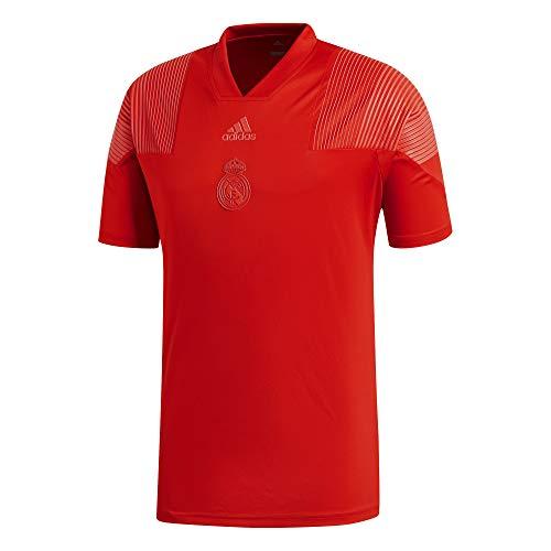 Real Madrid Fußball-t-shirts (adidas REAL LIC Tee Real Madrid Herren-T-Shirt, Rot)