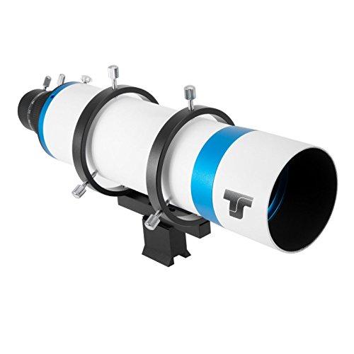 TS-Optics 80mm DeLuxe Teleskop-Sucher und Leitrohr mit Helikal Mikrofokussierung, TSL80D