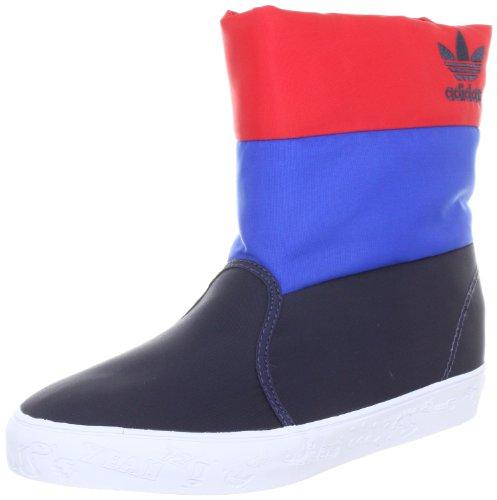 adidas OriginalsWINTER VULC K - Stivali Unisex - bambino Blu (Blau (NEW NAVY / BLUEBIRD / COLLEGIATE RED))