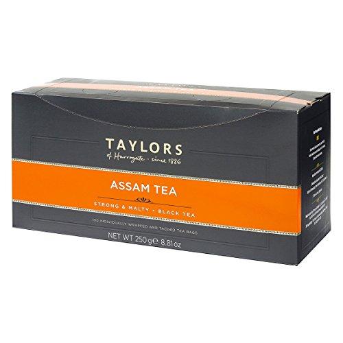 Taylors of Harrogate Pure Assam Tea Bags - 100 Wrapped Envelope Bags