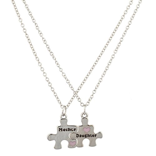 lux-accessories-pink-heart-puzzle-put-it-together-mother-daughter-mom-mum-bff-best-friends-necklaces