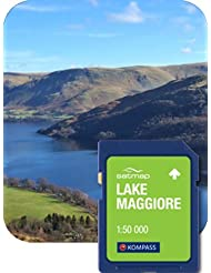 Satmap mapcard: Lake Maggiore 1: 50K