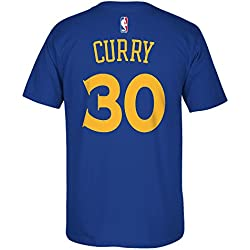 Stephen Curry Golden State Warriors Nba Adidas reproductor camiseta azul, large