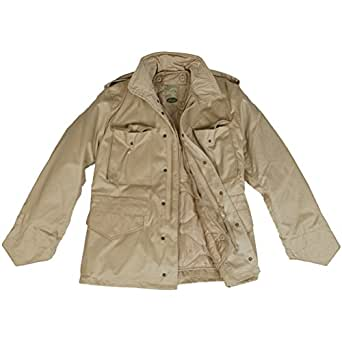 9de3807d91e7 Mil-Tec Classic US M65 Jacket Khaki  Amazon.co.uk  Clothing
