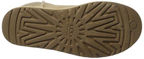 UGG Mini Bailey Button 3352 Damen Schlupfstiefel Sand
