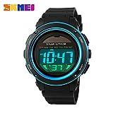 SKMEI Solar Power Sports Watches Men Shock Digital Watch Chrono 50M Water Resistant Wristwatches Relogio Masculino 1096