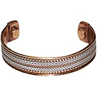 Mogul Interior Adult Healing Chakra Grounding Magnetic Wrist Bracelet. Valentine Gift
