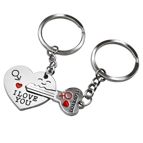 Smallwise Trading Couple Keychain Keyring