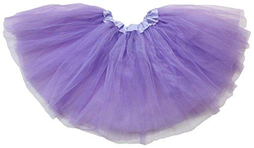 Baby Mädchen Tinkerbell Kostüme (Dancina Mädchen Tüllrock Tutu Ballettrock Classic 2-7 Jahre)
