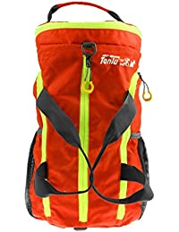 ELECTROPRIME High Quality Outdoor Large Gym Bag Sports Bag Travel Duffel Bag -Orange