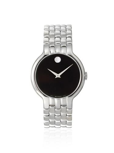 Movado uomo 606337Classic orologi in acciaio INOX argento/nero
