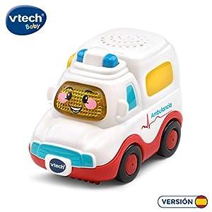 VTech- Nina la Ambulancia TutTut Bólidos Vehículo Interactivo con Voz, música y Efectos de Sonido, Incluye botón Sorpresa, (80-517022)
