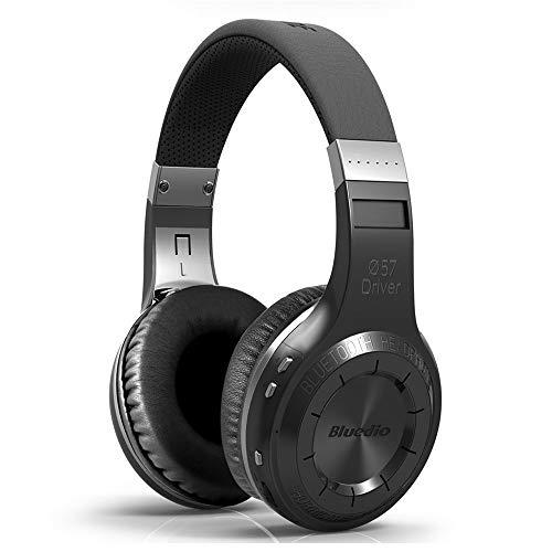 SU JIA Bluetooth Headset Wireless 5.0 Stereo-Subwoofer-Kopfhörer Anruffunktion Musik,Black