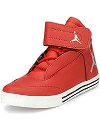 Server Men's Stylish Leather Lace Up Party Wear Jordan Sneaker Shoe
