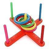 Oplon Kinder Kinder Werfen Hoop Ring Toss Spielen Garten Spaß Pool Outdoor Spielzeug Kit Fingerboards, Mini-BMX & Zubehör