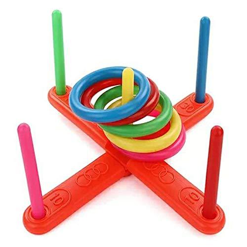 amiubo Kinder Kinder Werfen Hoop Ring Toss Spielen Garten Spaß Pool Outdoor Spielzeug Kit Fingerboards, Mini-BMX & Zubehör