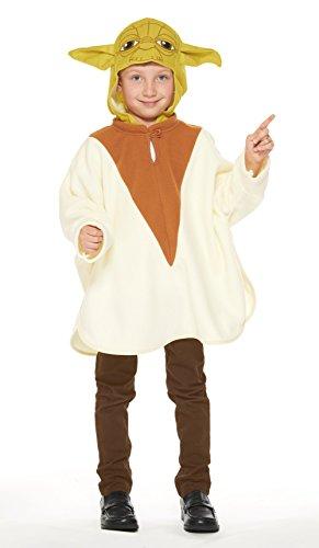 Star Wars Yoda Poncho Kinder Kostum Unisex Lange -