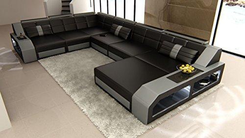 Xxl interni casa matera xxl nero grigio divano divano divano ad