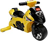 LuvLap Royal Bike Ride On for Kids, Battery Operated Music & Light, 12 Months + (Yel