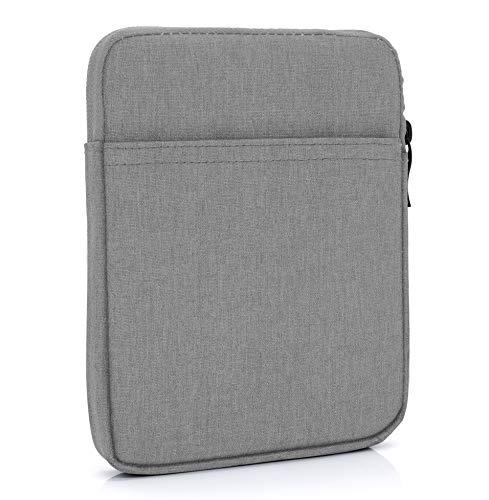 "MyGadget 6 Zoll Nylon Sleeve Hülle - Schutzhülle Tasche 6"" für eBook Reader/Smartphone/Navi z.B. Kindle Paperwhite, Apple iPhone XS X 8 Plus - Grau"
