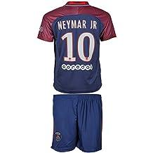 PSG Paris Saint-Germain 2017/18 Heim und Auswärts # 10 Neymar - Kinder Trikot und Hose