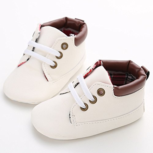 Leap Frog Sneakers, Baby, Jungen Lauflernschuhe Sneakers Smooth White