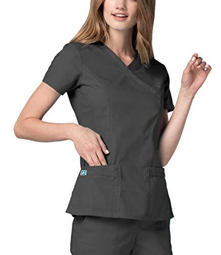 Adar Medizinische Uniformen Frauen Top Krankenschwester Krankenhaus Berufskleidung 2638 Farbe: PWR   Größe: L (Krankenschwestern Uniform-oberteile)
