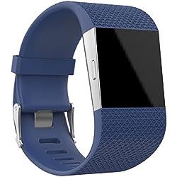 Correas grande Fitbit Surge OverDose correa de reloj kit de herramientas banda para Fitbit Surge