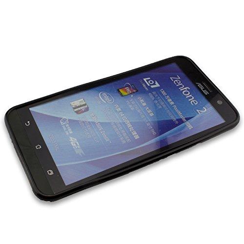 caseroxx TPU-Hülle für Asus Zenfone 2 ZE551ML, Tasche (TPU-Hülle in schwarz)