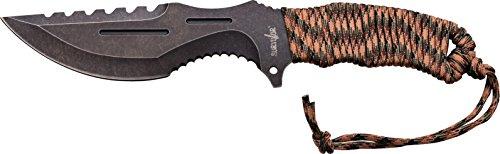 Survivor Adultes Longueur Totale cm : 30,48 Couteau d'extérieur, Multicolore, Taille Unique
