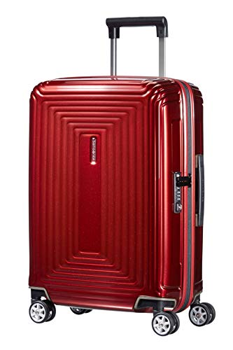 Samsonite Neopulse Spinner, S (55cm-38L), METALLIC RED