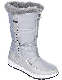 Trespass - Botas de nieve resistentes al agua modelo Virgo para mujer