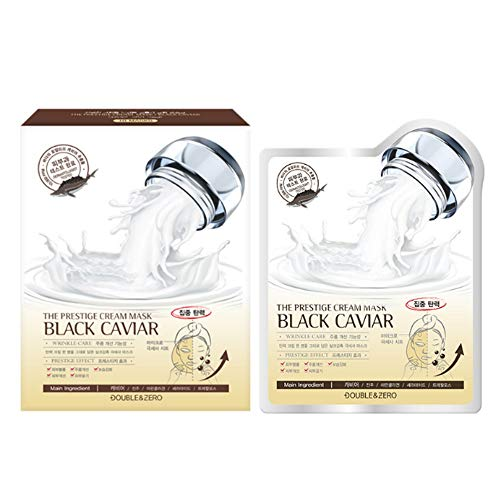 DOUBLE AND ZERO THE PRESTIGE CREAM MASK BLACK CAVIAR