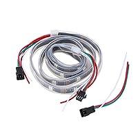 QIingTanger WS2812B 5050 RGB LED Strip 1M 30 LED Individual Addressable Stripe Light