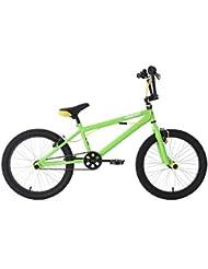 KS Cycling Bmx Hedonic Fahrrad, Grün/Gelb, 20 Zoll