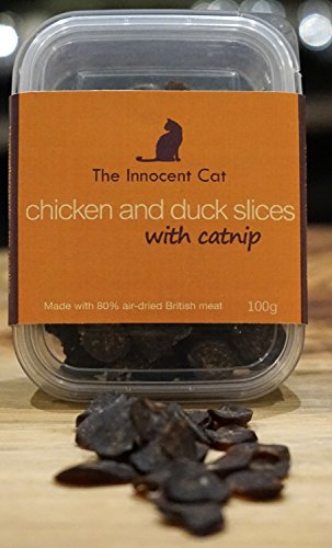 the-innocent-cat-chicken-and-duck-slices-100g-pack-of-6