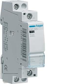 Hager-Contacteur Esc125 25a 1na 230 V