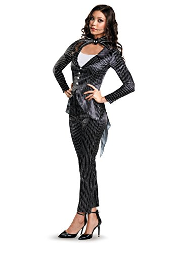 Women's Jack Skellington Deluxe Fancy dress costume Large