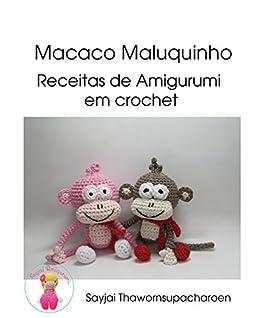 Monkey bookmark Crochet Pattern Amigurumi toy (LittleOwlsHut ... | 318x260