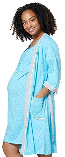 HAPPY MAMA Mujer Maternidad Camisón/Bata Venden Separado