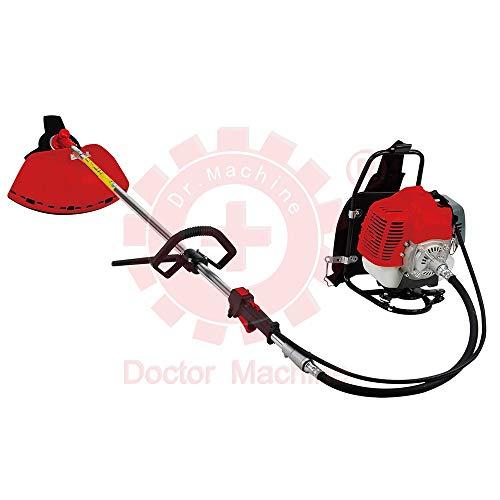 Doctor Machine Dm0005 Desbrozadora a Mochila 43 CC - 1.47 kW - 2.3 HP - Rotación 180 ° - Potente y...